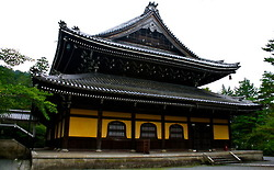 Nanzen-ji. The expansive grounds hold beautiful gardens and numerous sub-temples