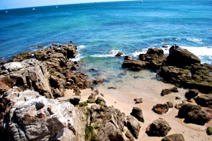 The beach at Cascais