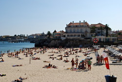 The bay in Cascais