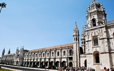 The Mosteiro dos Jeronimos in Belem