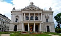 The Mahen Theatre in Brno, Czech Republic