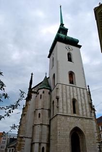 Church of St James in Brno, Czech Republic