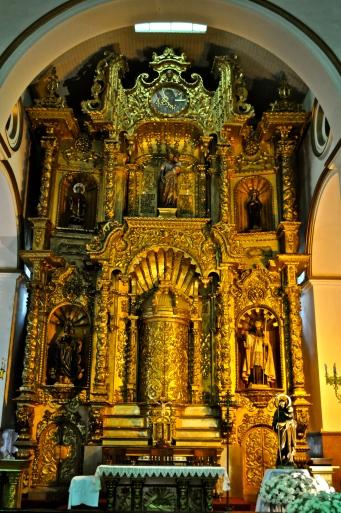 Iglesia de San Jose's Golden Altar