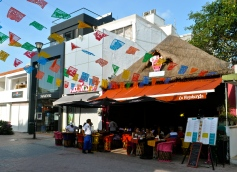 Delicious Mexican food at La Vagabunda