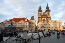 Fairy tale view of Old Town Square