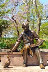 Hans Christian Andersen Statue