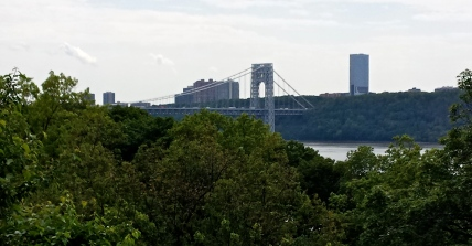 View of the George Washington Bridge from Fort Tryon Park