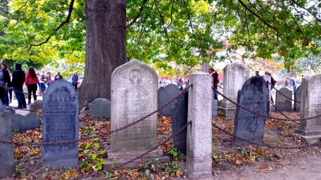 The Burying Point - Salem's oldest burying ground