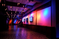 The main corridor inside the Opry