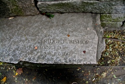 Memorial to Bridget Bishop