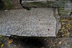 Memorial to Bridget Bishop