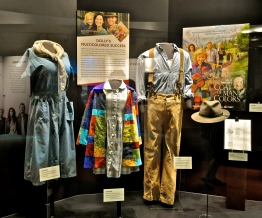 Costumes from Dolly's 'Coat of Many Colours' movie