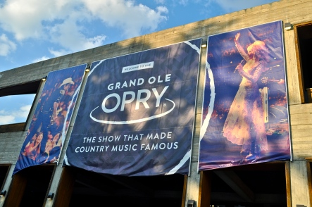 The famous Grand Ole Opry