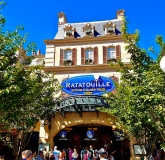 Entrance to the Ratatouille ride
