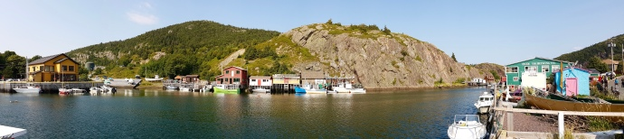 Picturesque Quidi Vidi Harbour