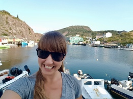 Enjoying my wander around Quidi Vidi