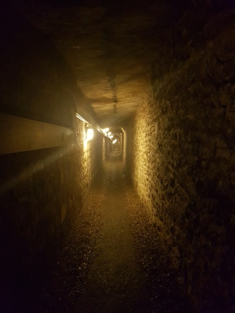 Tunnel leading into the Catacombs
