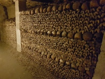 Millions of bones found in the underground ossuary of Paris