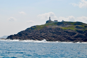 Sailing by Cape Spear, the most easterly point of North America