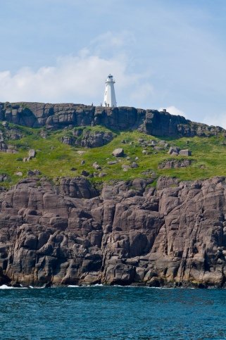 The lighthouse on Cape Spear