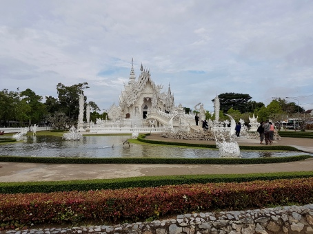 Unique White Temple