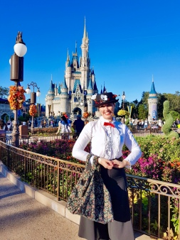 Mary Poppins at Magic Kingdom