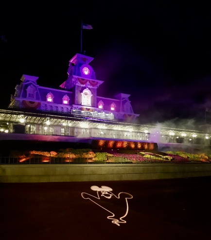 Magic Kingdom at Halloween