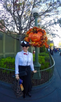 Mary Poppins at Mickey's Not-So-Scary Halloween Party