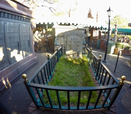 Graves at the Haunted Mansion