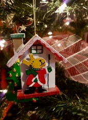 Ornament from my Habitat for Humanity build in Costa Rica