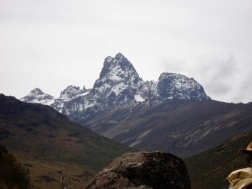 Snowy Mt. Kenya