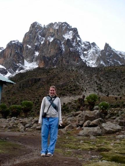 Climbing Mt.Kenya