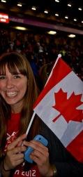 Cheering on Canada!