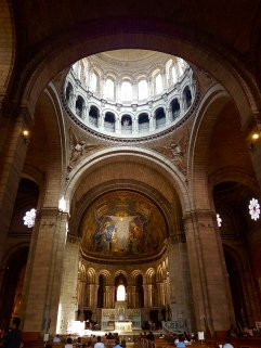 Inside the Sacre-Coeur