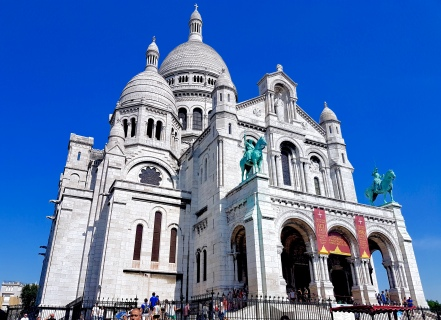 The Sacre-Coeur Basillica