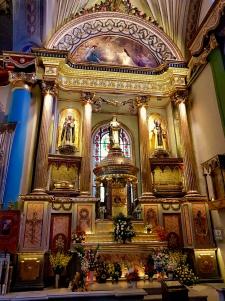 San Martin de Porres, Santa Rosa de Lima & San Juan Macias tombs