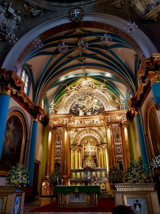 Beautiful alter in Santo Domingo